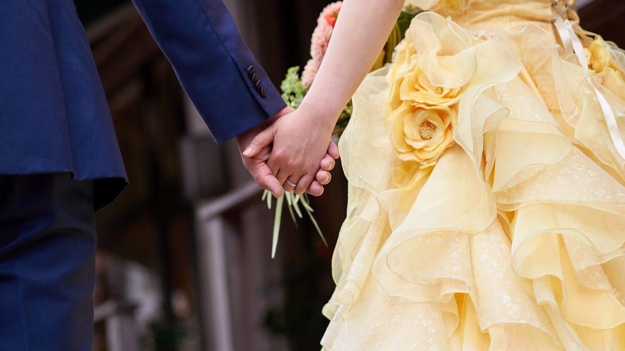 カラードレスはウェディングドレスと同じぐらい大事!