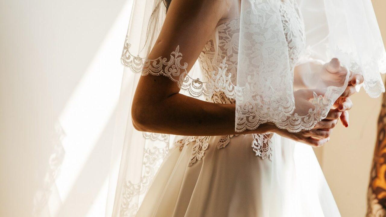 花嫁衣裳の定番「ウェディングベール」