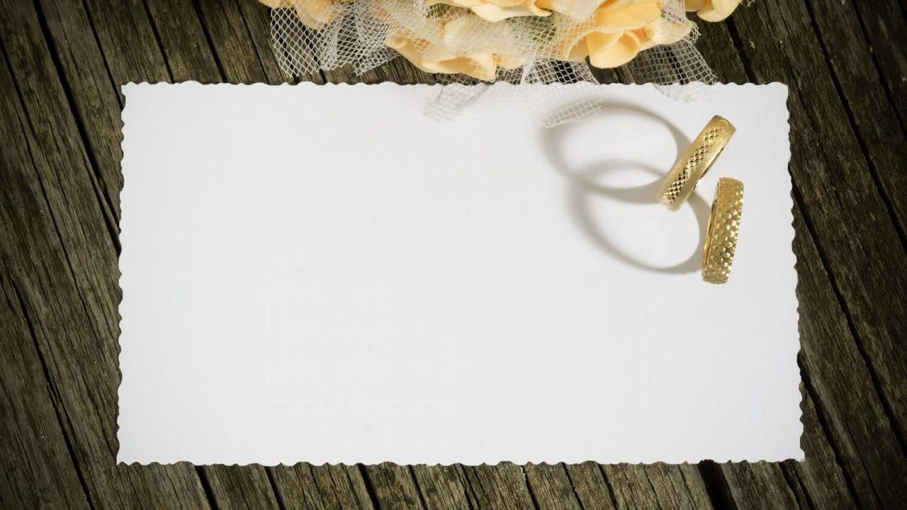キリスト教式・人前式に欠かせない結婚証明書