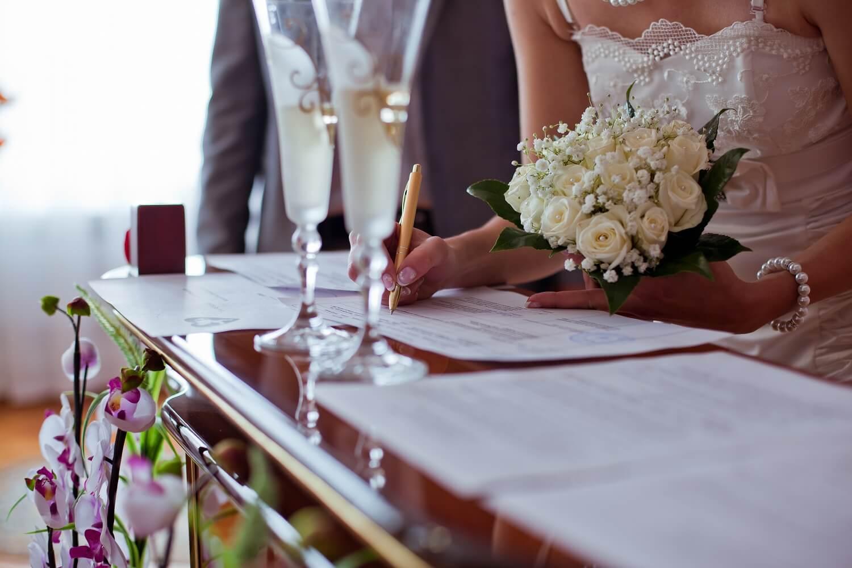結婚式で使う結婚証明書