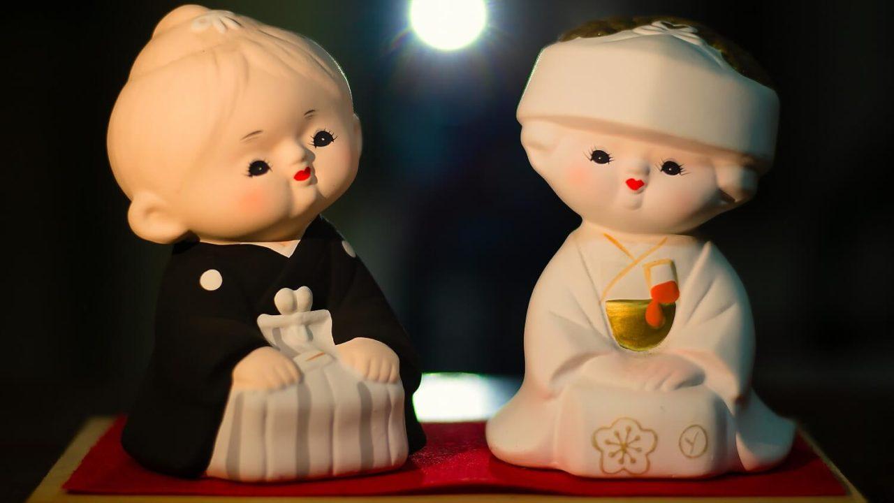 和式の婚礼で欠かせない角隠しとは?