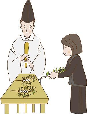 霊璽へ霊代を移す遷霊祭