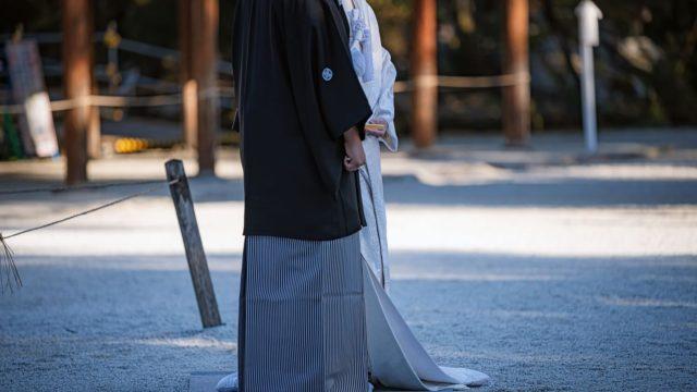 和装のフォーマルウェアである紋付羽織袴