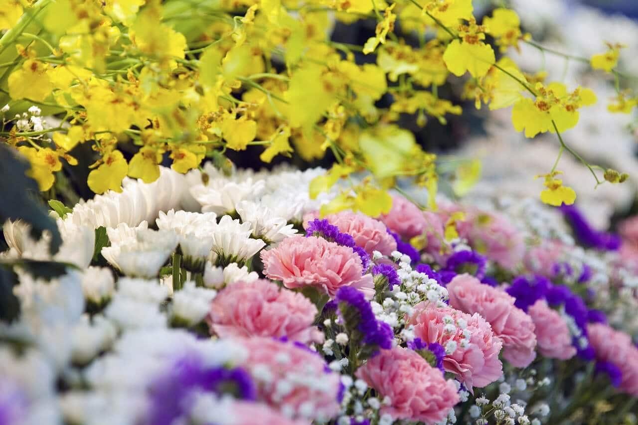 葬儀や告別式の終盤となる別れ花