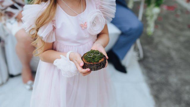 結婚式に華を添える小さな天使 リングボーイ・リングガールとは?